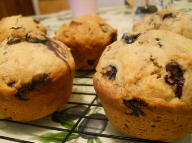 Cooking Light's Blueberry Cinnamon-Burst Muffins