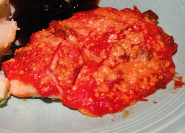 Oven-Baked Salsa Fish Fillets