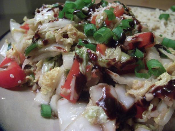 Stir Fried Spicy Cabbage
