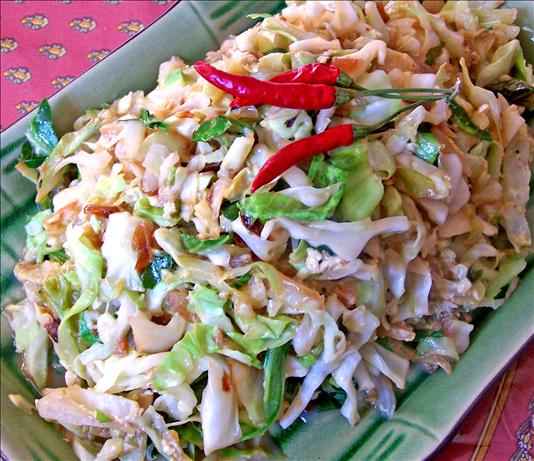Indonesian Style Stir-Fried Cabbage