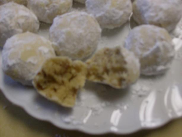 Wedding Cookies (Snowballs, Russian Tea Cakes)