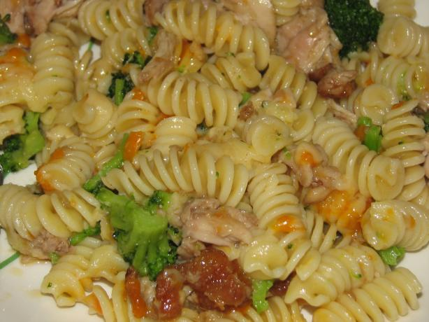 Chicken & Broccoli Bow-Tie Pasta Salad