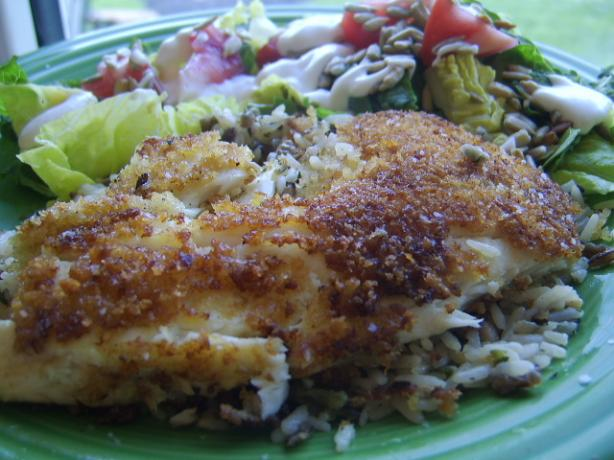 Tangy Pan Fried Tilapia