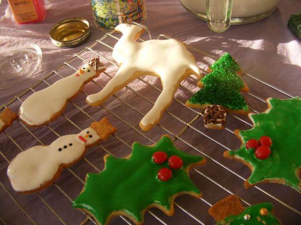 Valentine Rich Rolled Cookies