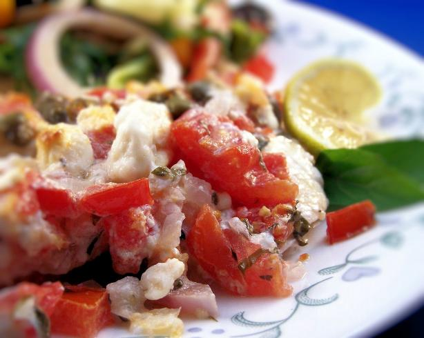 Mediterranean Style Orange Roughy