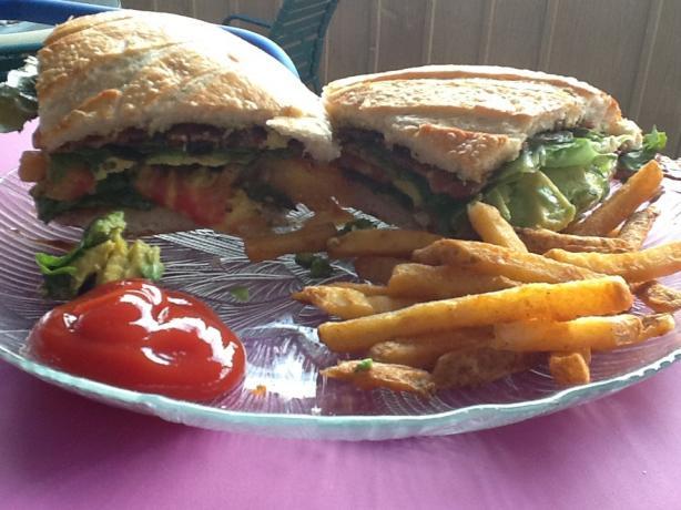 The World's Best B L T Sandwich