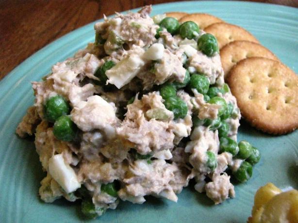 Tuna Pea Salad
