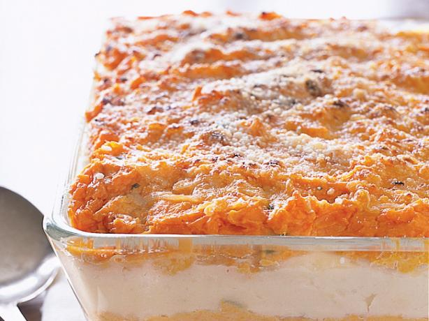 Mashed White/Sweet Potato Bake
