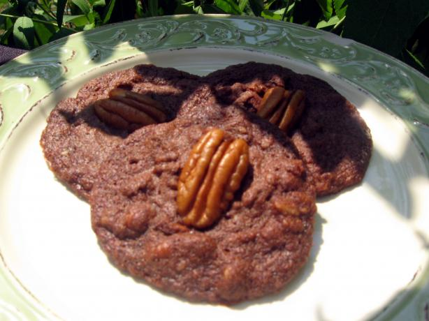 Czech Chocolate Pecan Cookies
