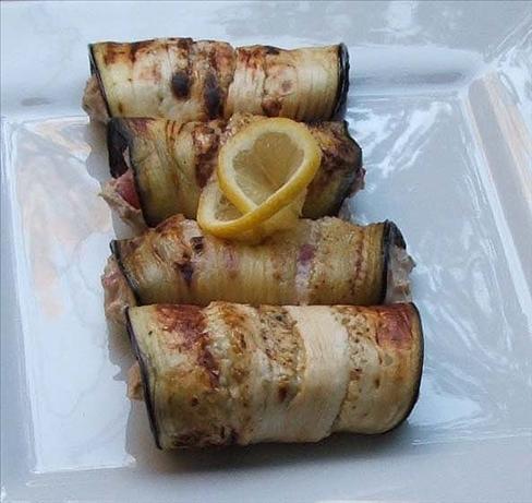 Eggplant (Aubergine) Roll-Ups