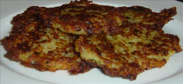 Cheese & Potato Pancakes