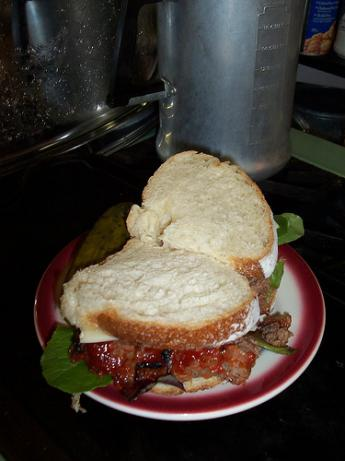 Diane Sawyer's Famous Meatloaf Sandwiches