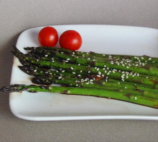 Stir- Fried Sesame Asparagus