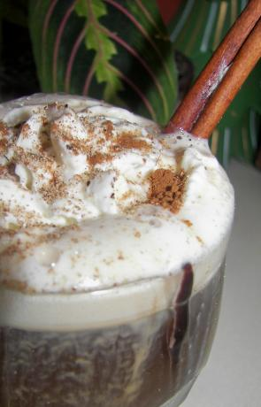 Spiced Cream Coffee or Spiced Cream Irish Coffee
