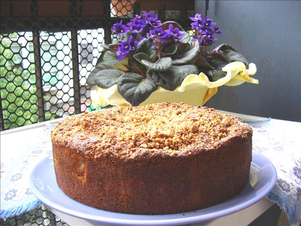 Sour Cream and Apple Coffee Cake