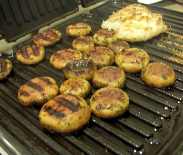 Italian Grilled Mushrooms