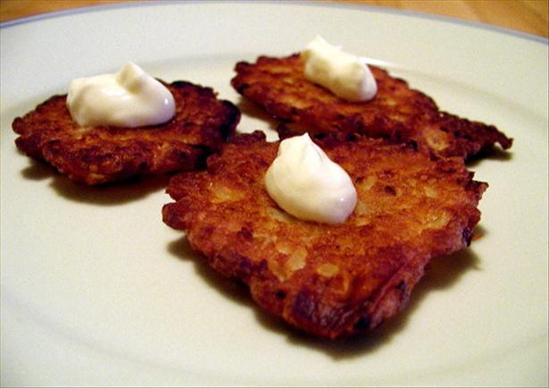 Kittencal's Onion Patties/Latkes
