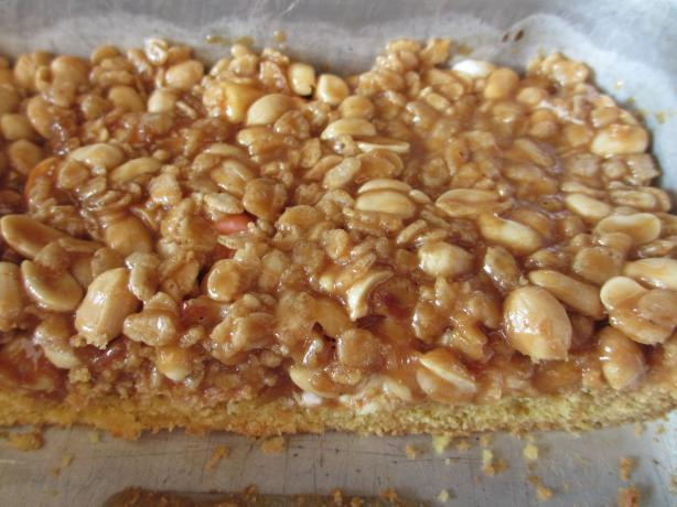 Peanut Butter Marshmallow Cookie Bars