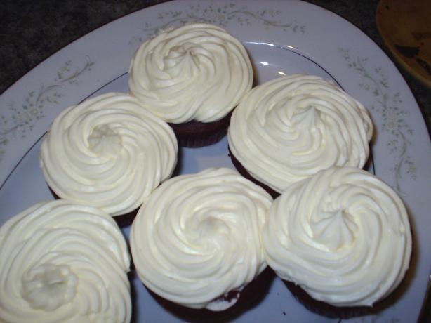 Easy yet Decadent Red Velvet Cupcakes