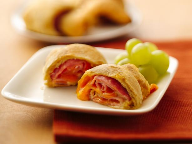 Ham & Cheese Crescent Roll Ups