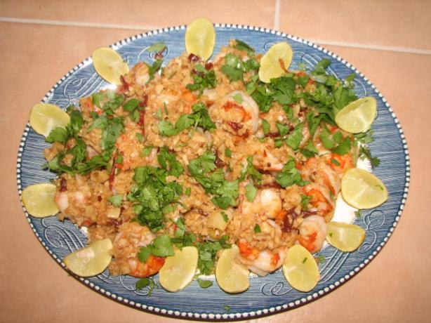 Shrimp With Sweet Toasty Garlic (Camarones Al Mojo De Ajo)