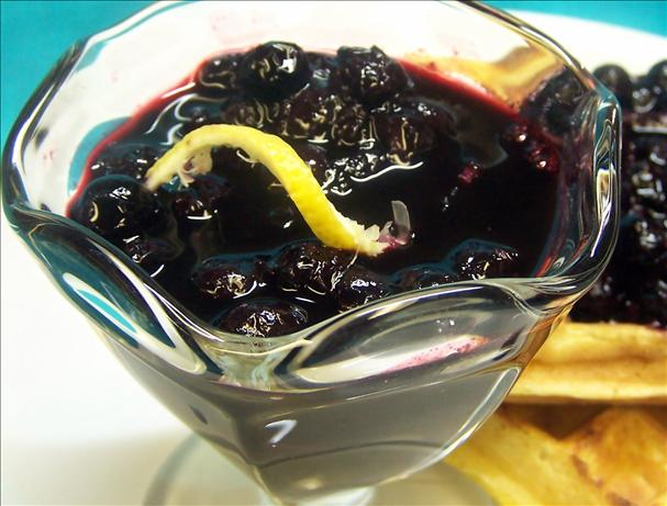 Up Those Antioxidants With Blueberry Sauce