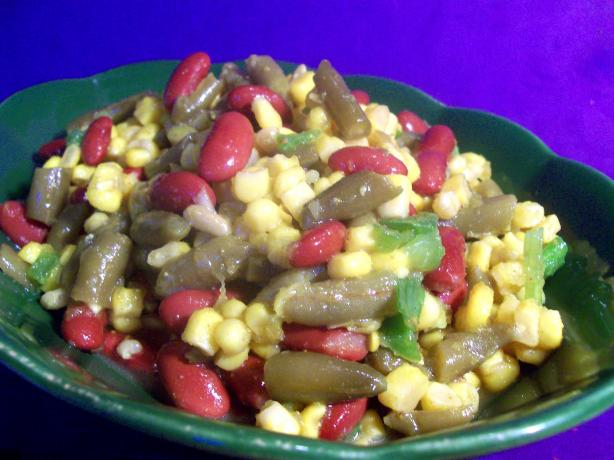 Kidney Bean and Corn Salad