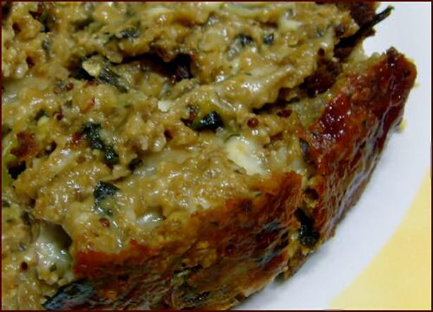 Vegetarian Meatloaf - Healthy