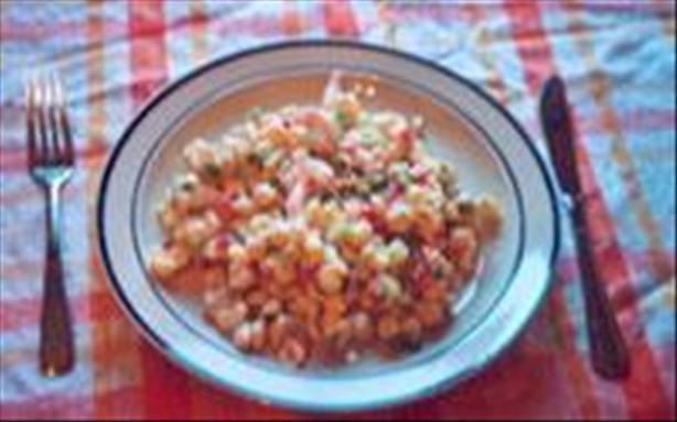 Light Shrimp and Pasta Salad
