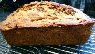 Country Girl's Banana-Carrot-Ginger Bread