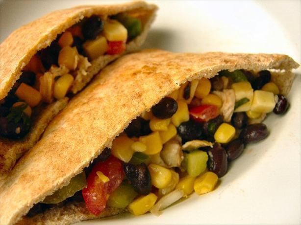 Black Bean Taco Salad With Lime Vinaigrette
