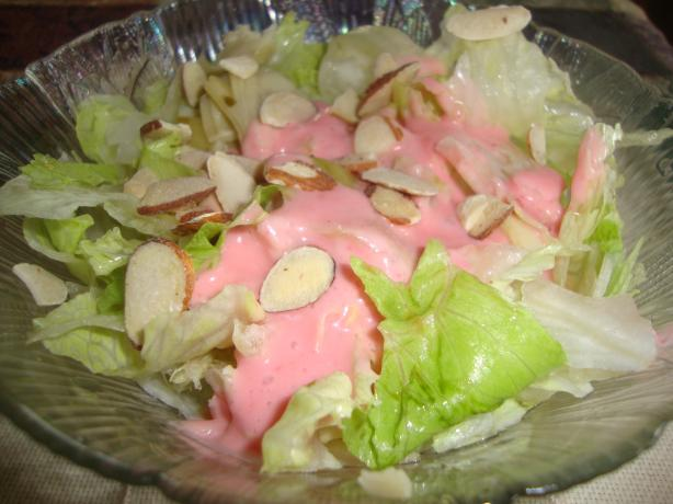 Paula's Pretty in Pink Salad Dressing