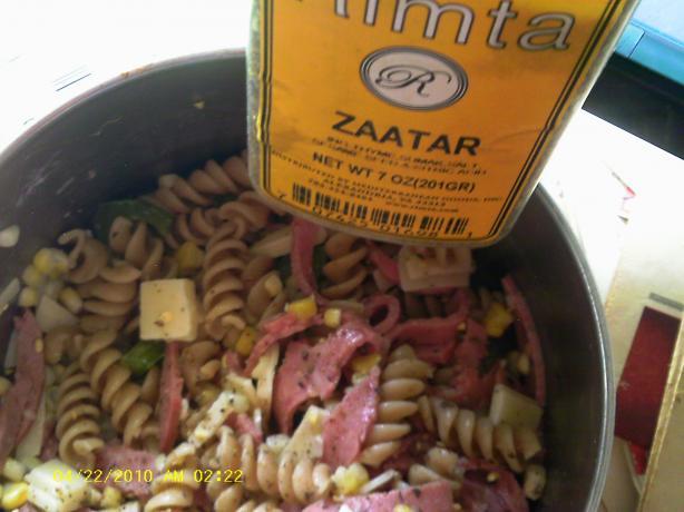 Moroccan Style Pasta Salad