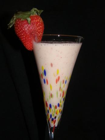 Fresh Banana-Berry Shake