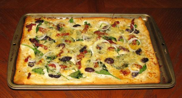 Rachael Ray's Vegeterranean Pizza