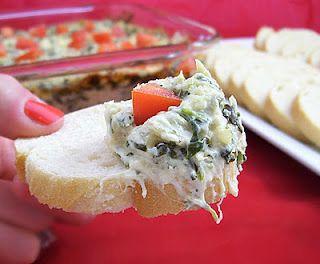 Creamy Artichoke Spinach & Crab Dip