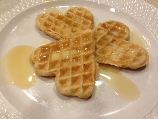 Overnight Refrigerator Waffles With Dutch Honey