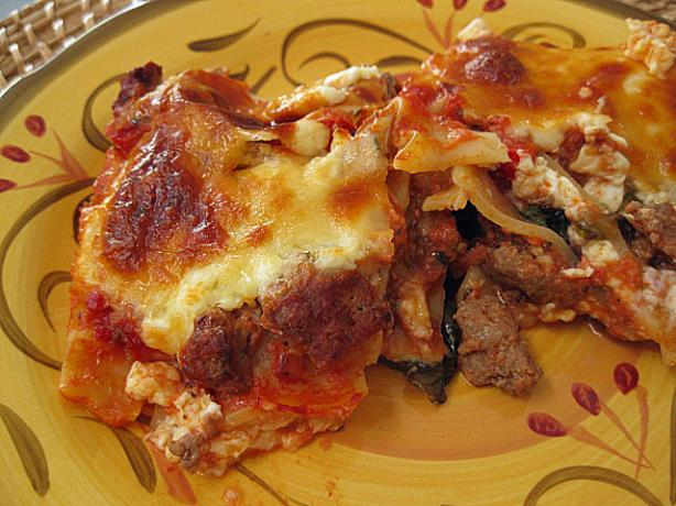 Restaurant Style Lasagna