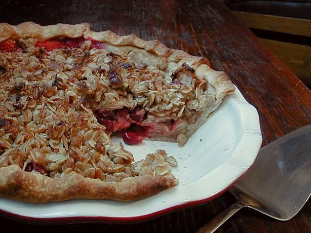 Apple-Cranberry Crisp Pie