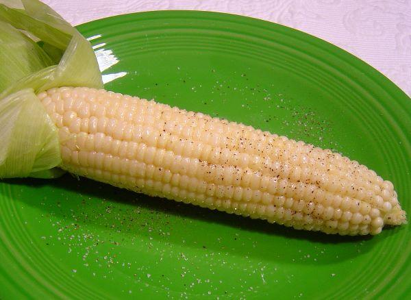 Corn on the Cob ( Cooked in the Old Ways)