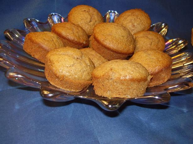 Spiced Applesauce Cupcakes