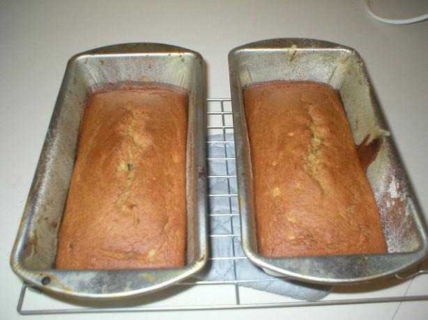 Pear Banana Bread Low-Fat