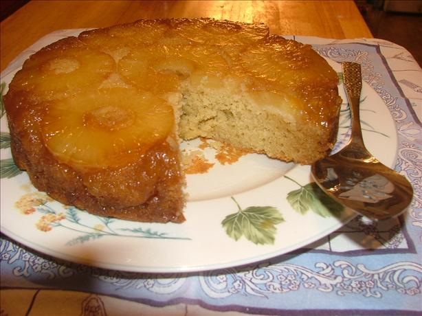 Decadent Pineapple Rum Upside-Down Cake