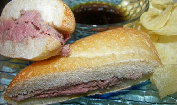 Amy's Roast Beef for French Dips