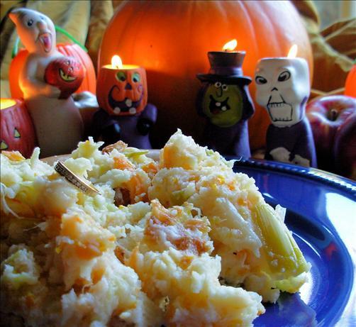 Traditional English Halloween Supper - Mash O' Nine Sorts