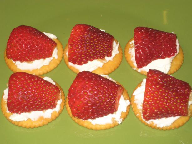 Strawberry Cream Cheese Snacks