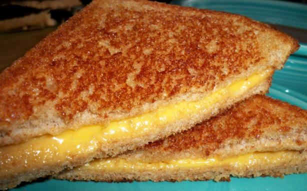 Light Grilled Cheese Sandwiches