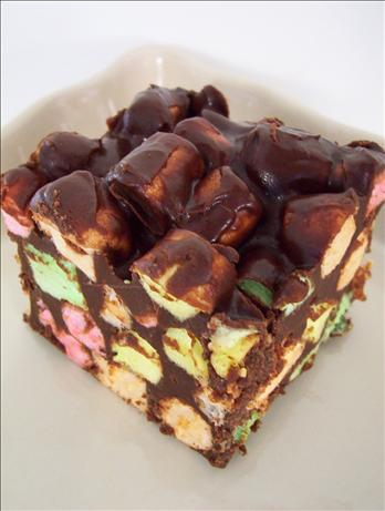 Chocolate Chip Marshmallow Squares