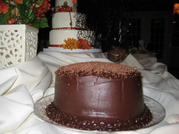 6 Layer Dreamy Chocolate Mousse Cake- Paula Deen