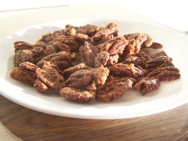 Sweet Hot Spiced Nuts